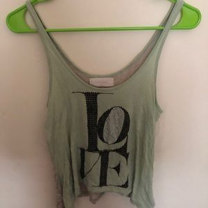 Tops - Lace Love Tank Top